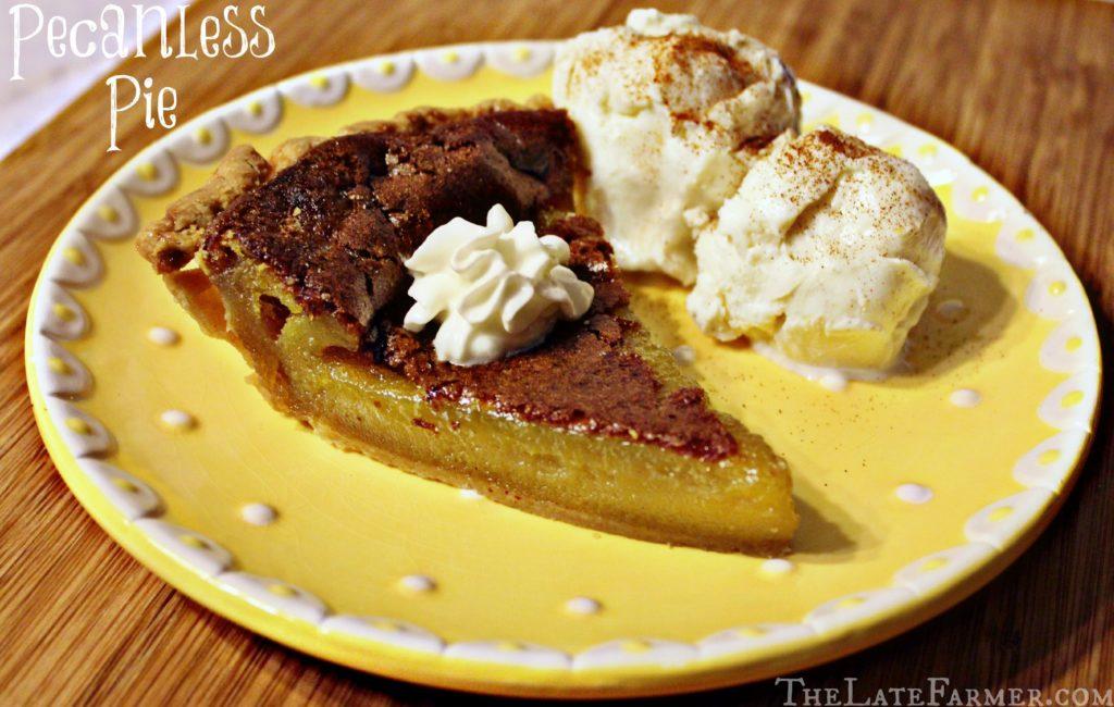 Pecanless Pie