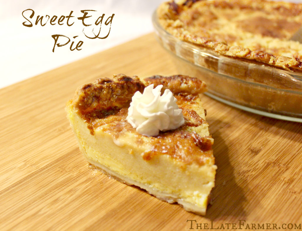 A wonderful new pie recipe, like no other! :)