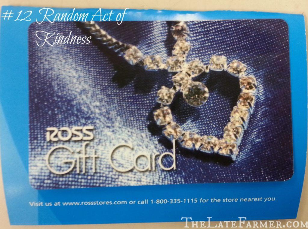 #12 Random Act of Kindness - TheLateFarmer.com