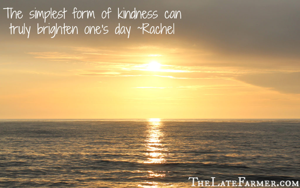 #37 Random Act of Kindness - TheLateFarmer.com