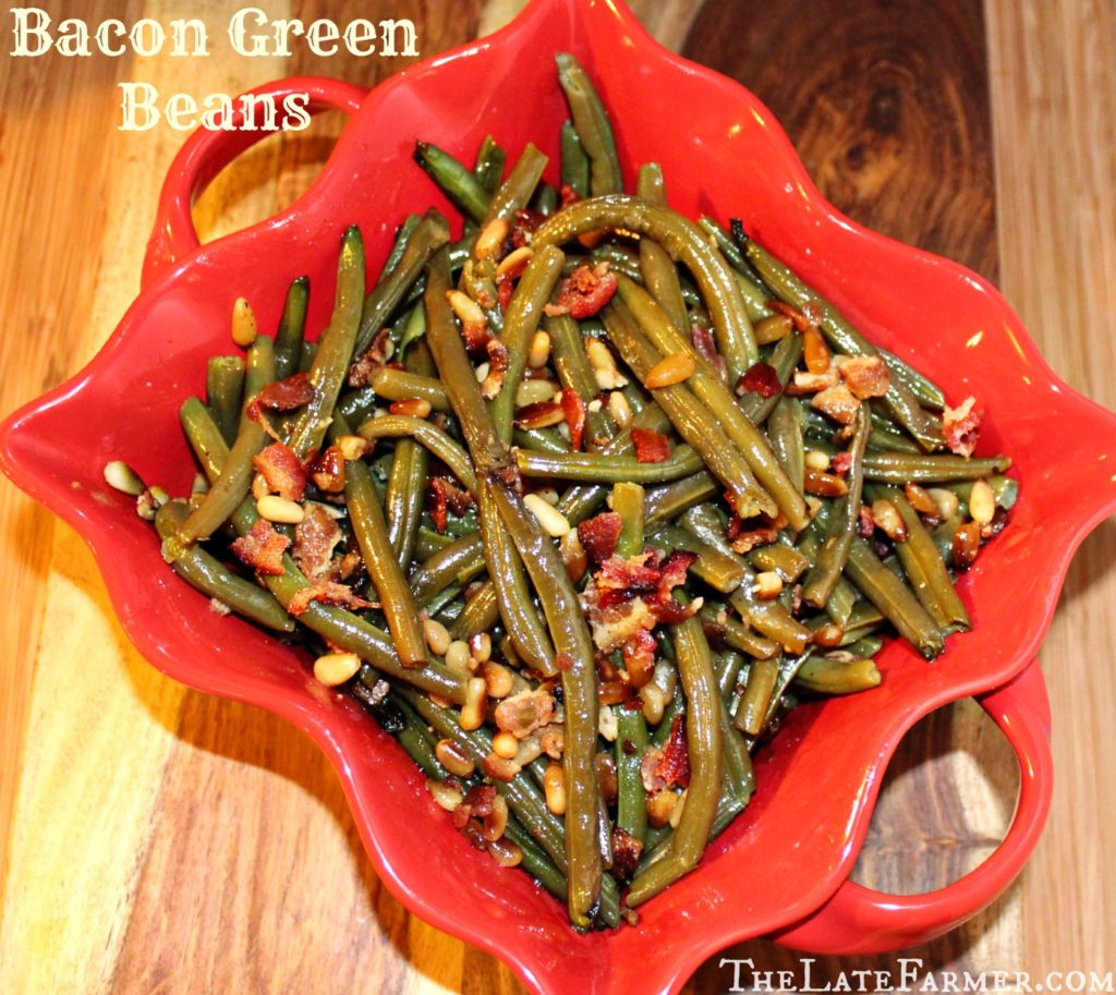 Bacon Green Beans - TheLateFarmer.com