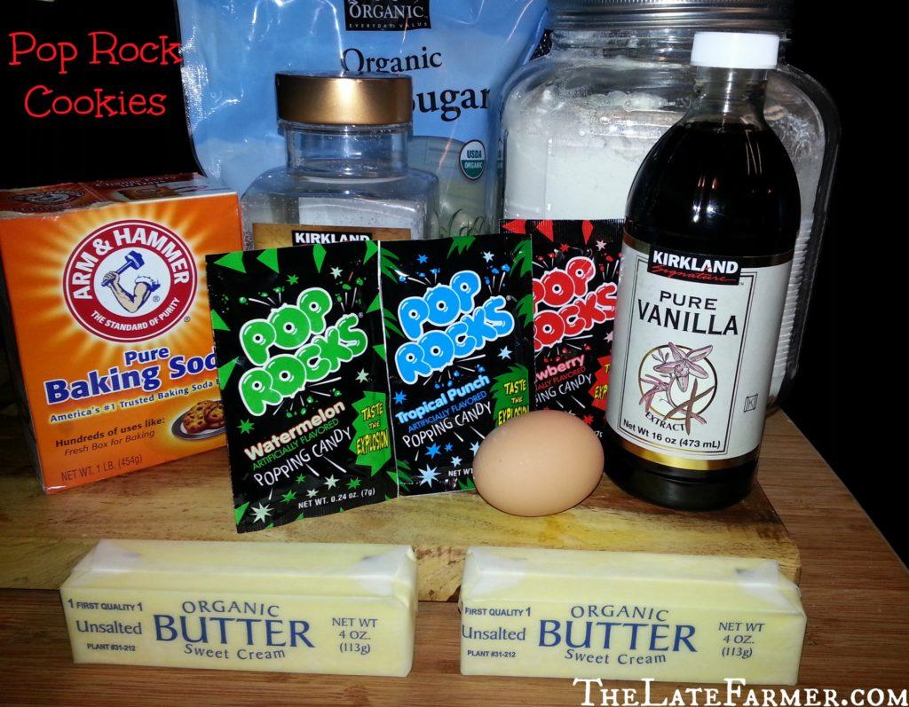 Pop Rock Cookies - TheLateFarmer.com Recipe