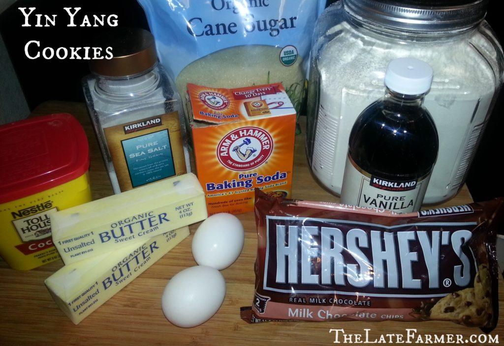 Yin Yang Cookies - TheLateFarmer.com Recipe