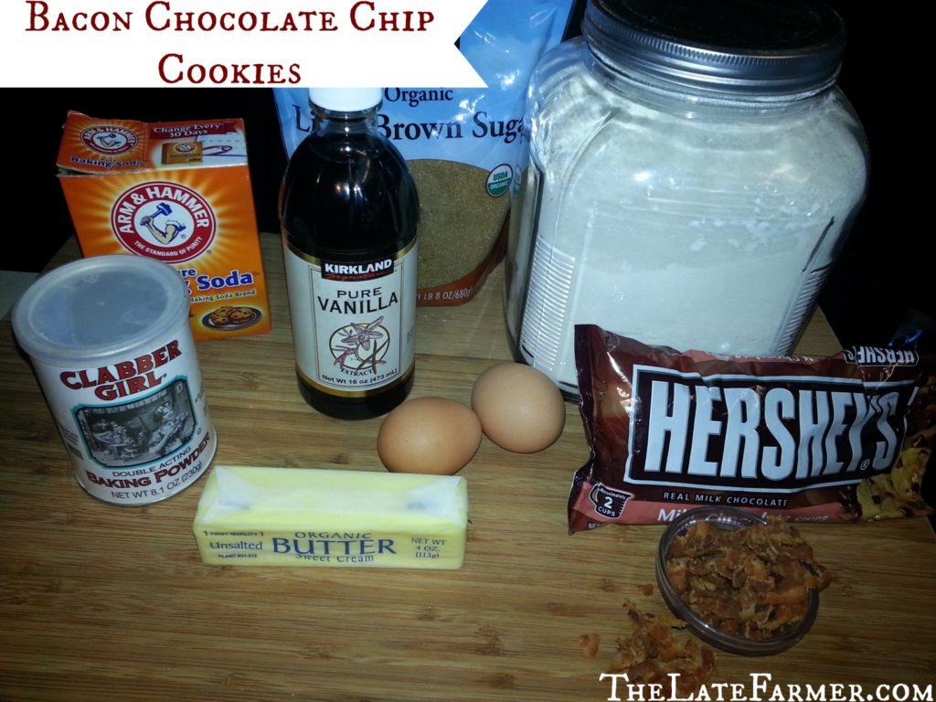 Bacon Chocolate Chip Cookies Recipe - TheLateFarmer.com
