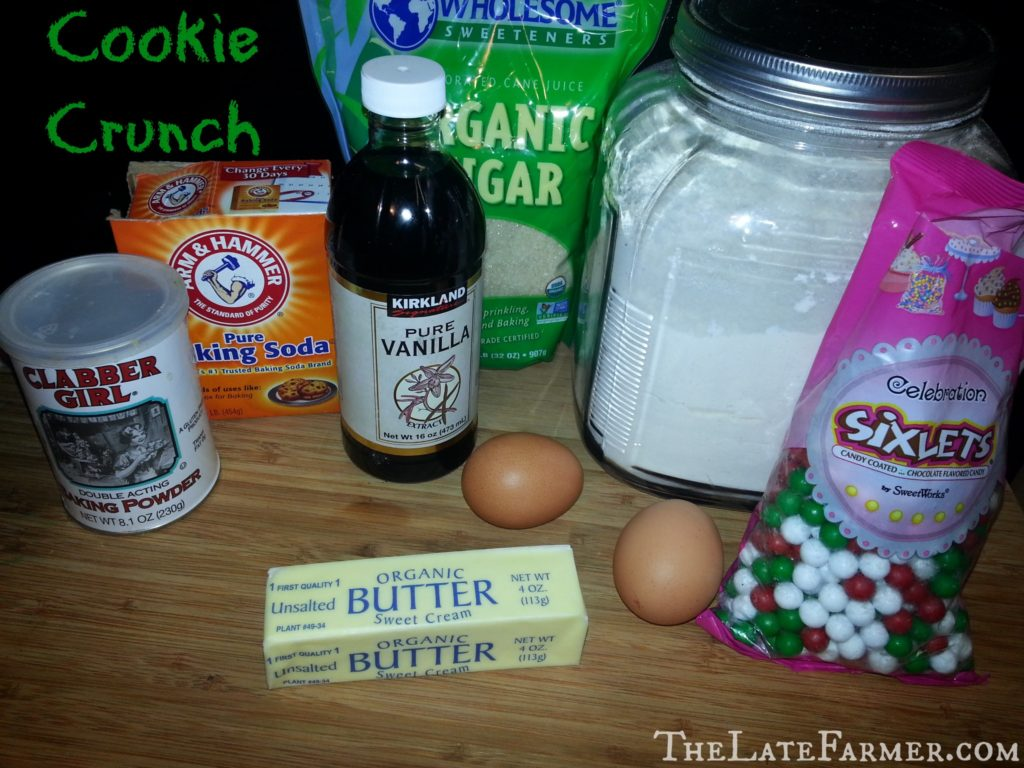 Cookie Crunch - TheLateFarmer.com Recipe
